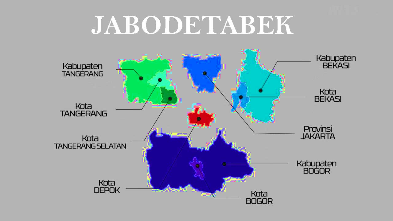 jabodetabek maps